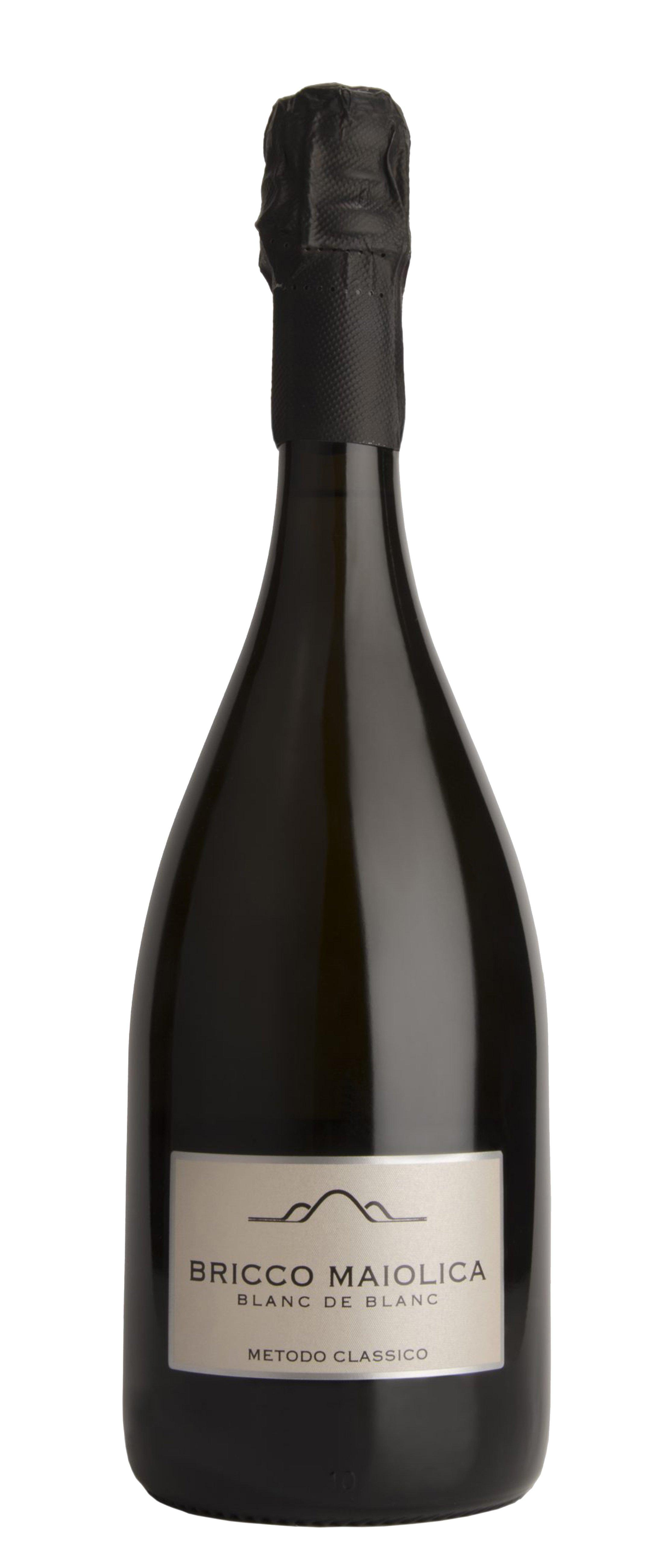 """Download Foto Bottiglia """"Bricco Maiolica"""" <br />Blanc de Blanc Metodo Classico"""