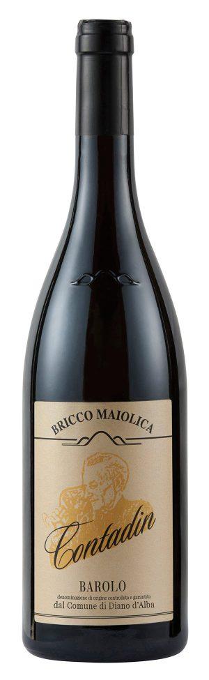 Contadin Barolo del comune di Diano d'Alba DOCG - Bricco Maiolica