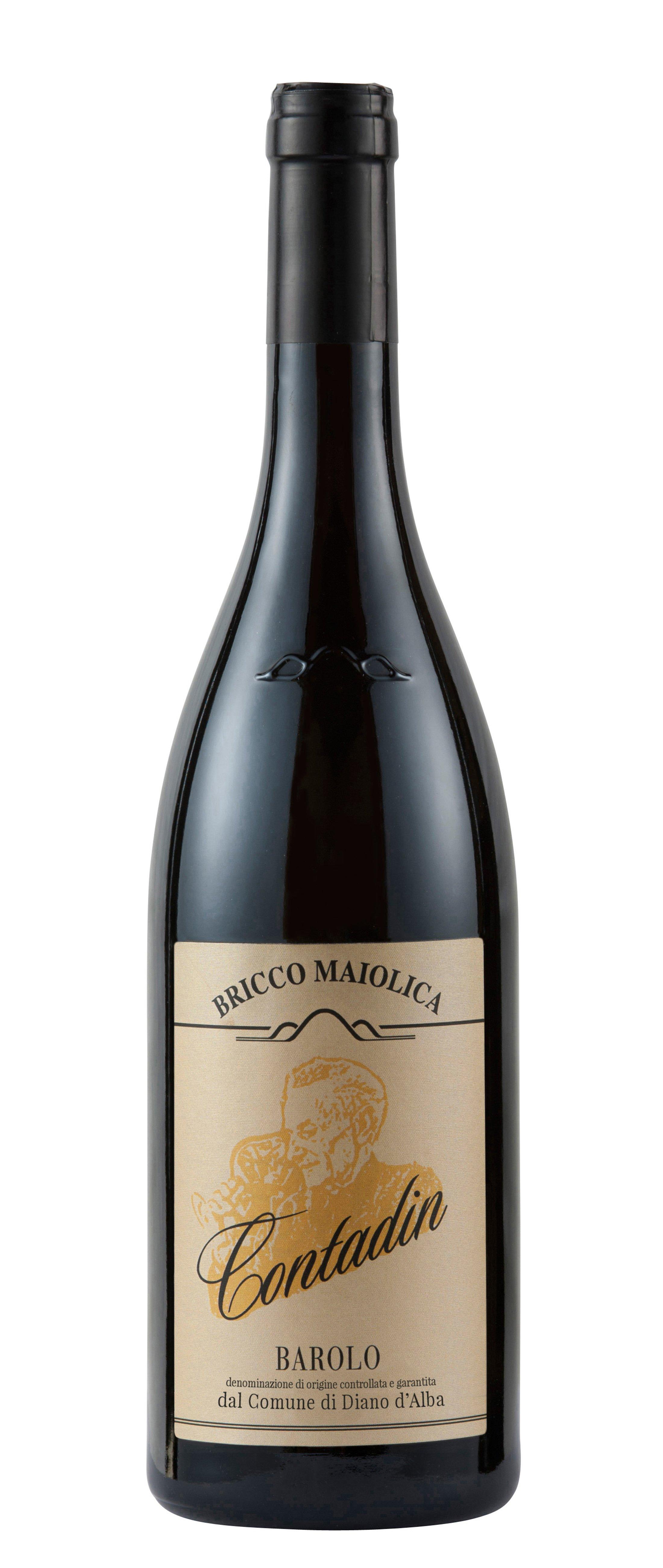"""Download Foto Bottiglia """"Contadin"""" <br />Barolo del comune di Diano d'Alba DOCG"""