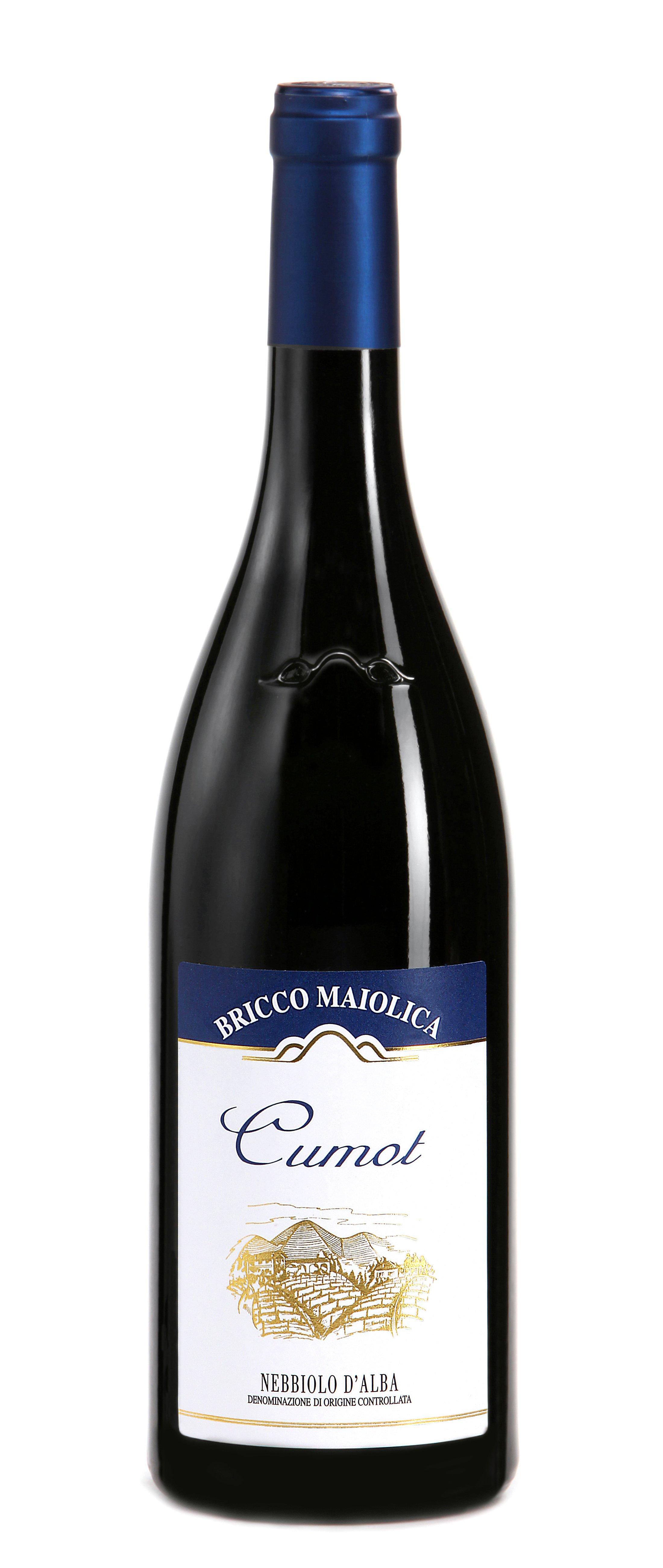 """Download Foto Bottiglia """"Cumot"""" <br />Nebbiolo d'Alba Superiore DOC"""