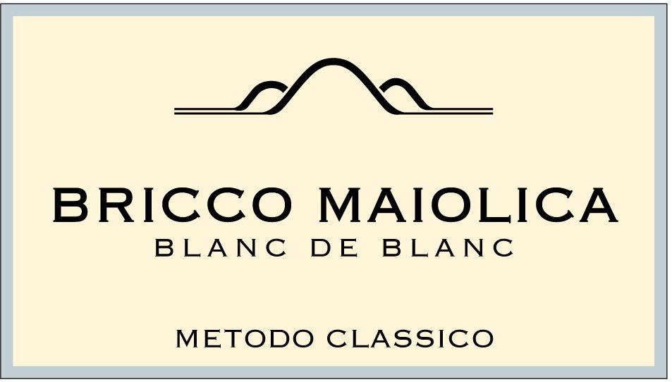"""Download Etichetta """"Bricco Maiolica"""" <br />Blanc de Blanc Metodo Classico"""