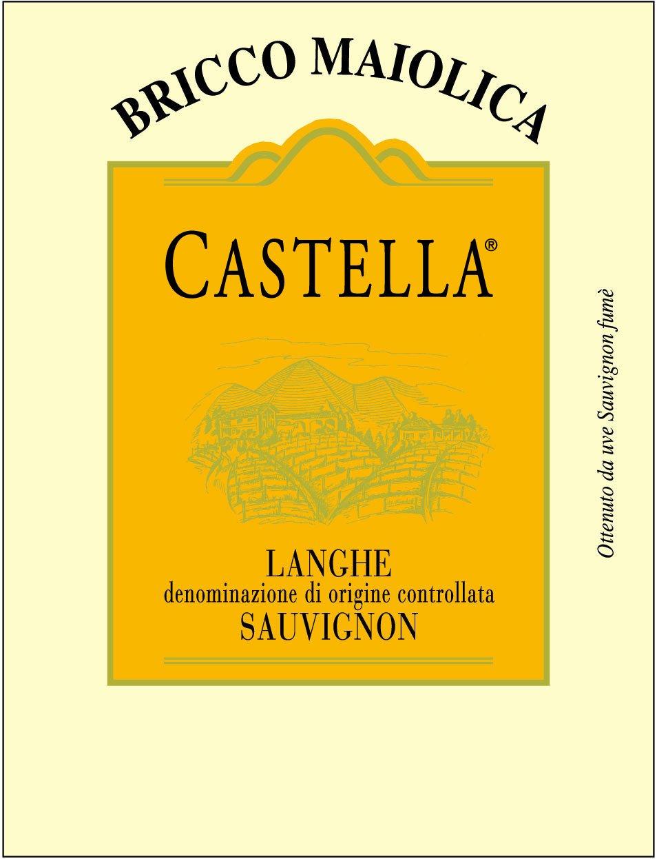 """Download Etichetta """"Castella"""" <br />Langhe Sauvignon Fumé DOC"""