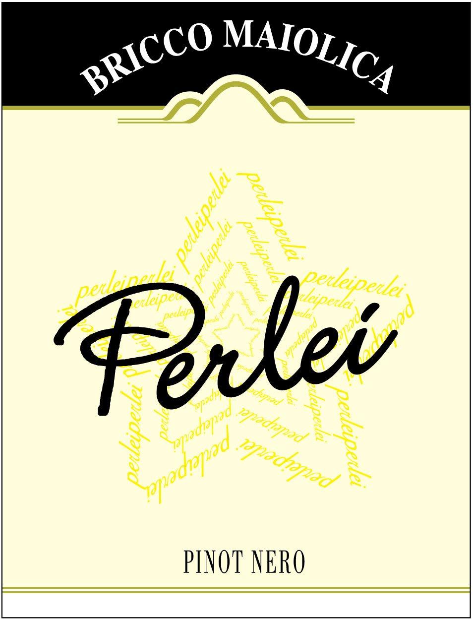 """Download Etichetta """"Perlei"""" <br />Langhe Pinot Nero DOC"""