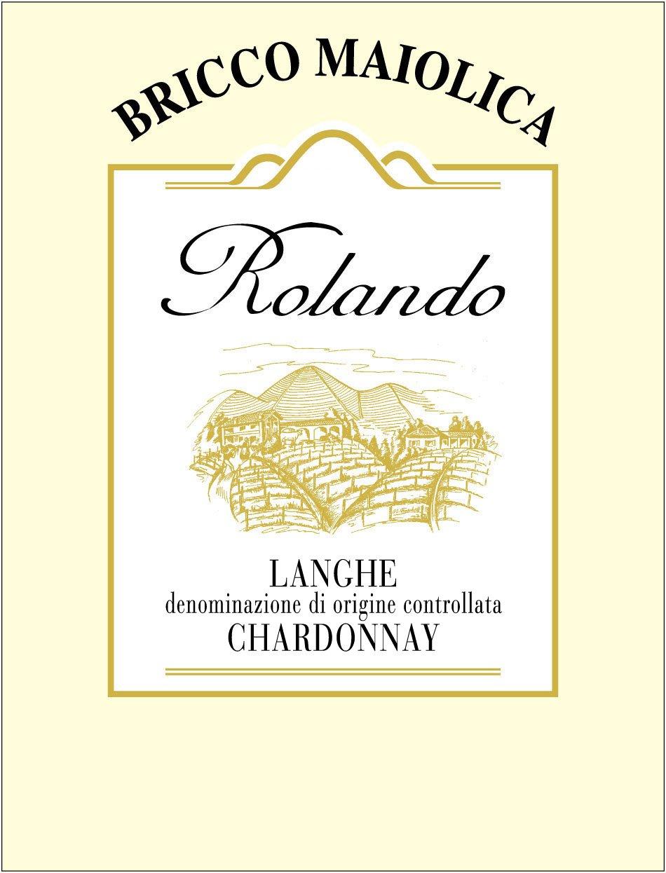 """Download Etichetta """"Rolando"""" <br />Langhe Chardonnay DOC"""