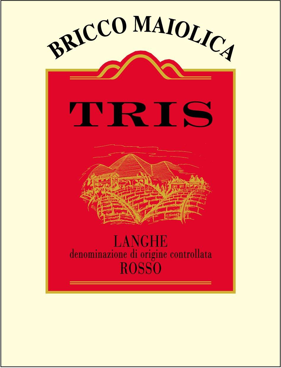 "Download Etichetta ""Tris"" <br />Langhe Rosso DOC"
