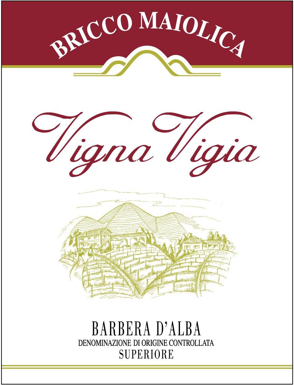 """Download Etichetta """"Vigna Vigia"""" <br />Barbera d'Alba Superiore DOC"""