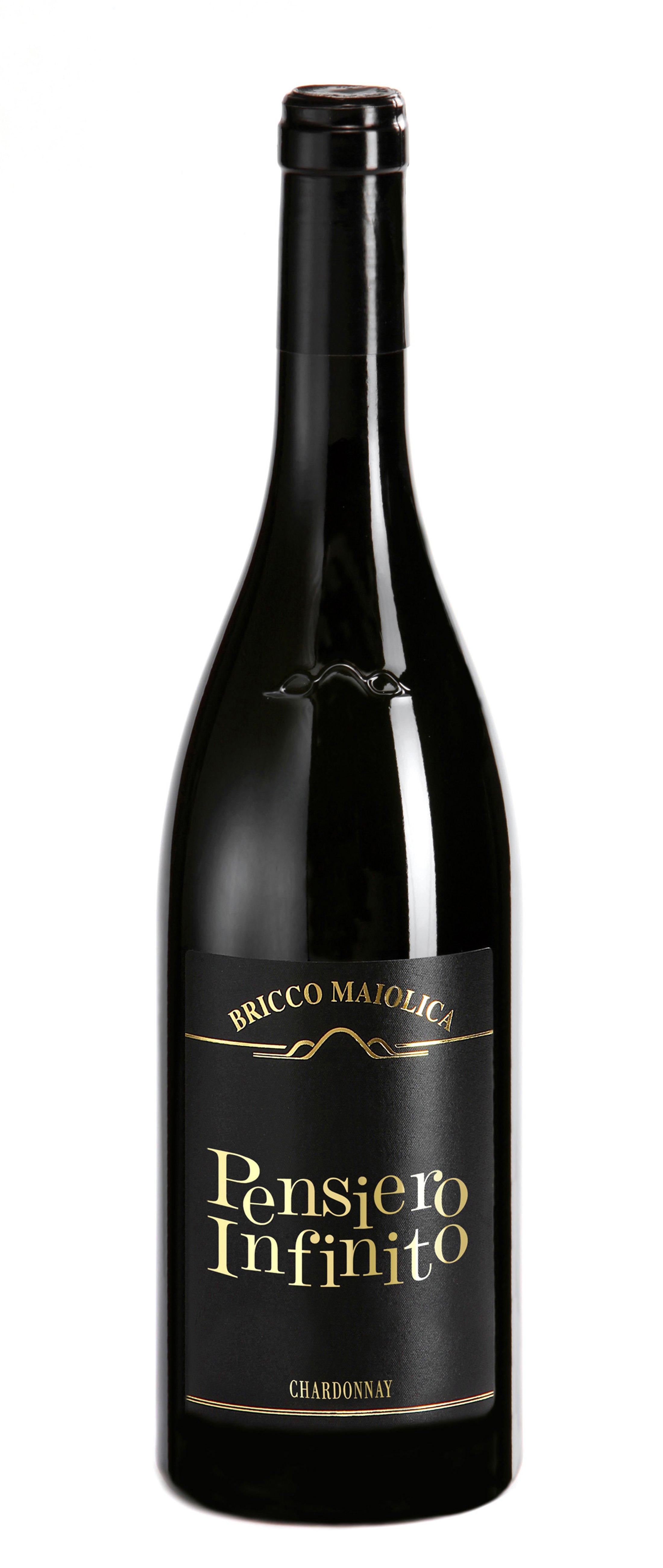 """Download Foto Bottiglia """"Pensiero Infinito"""" <br />Langhe Chardonnay DOC"""