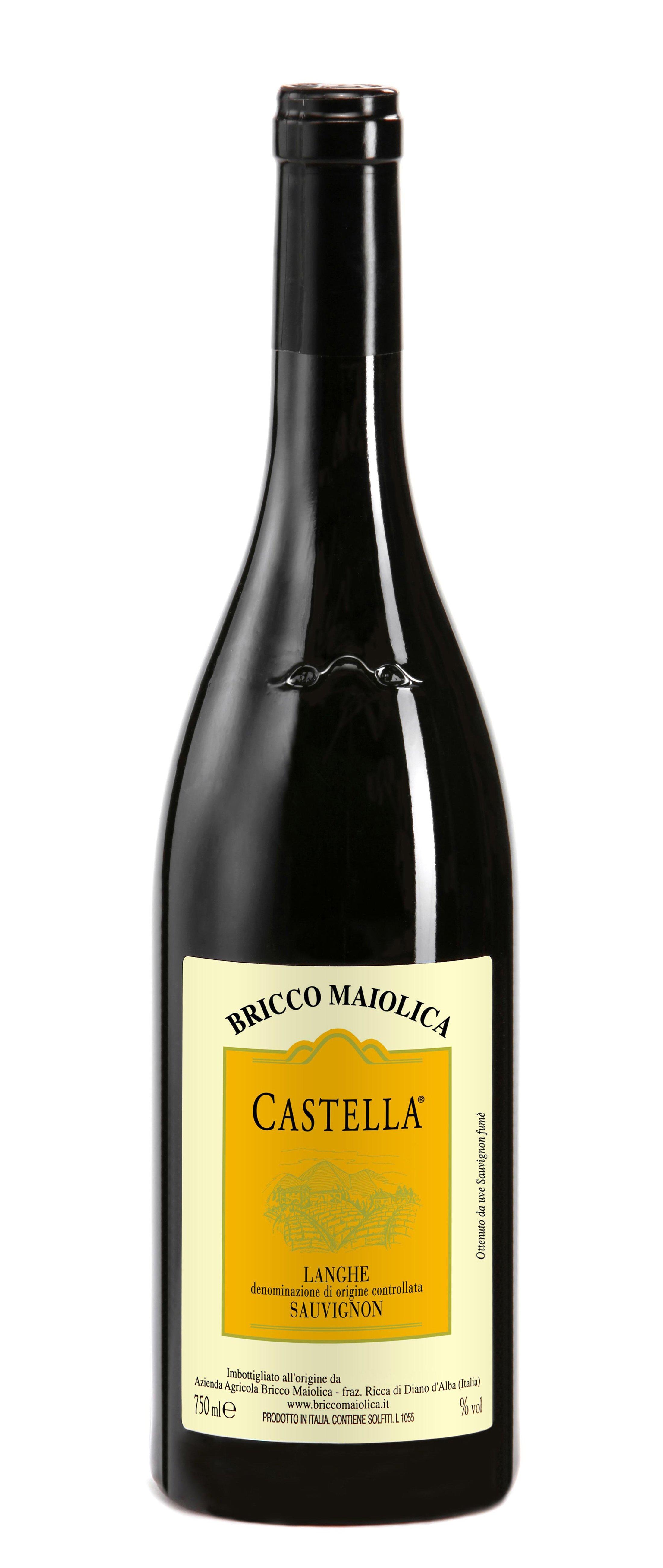 """Download Foto Bottiglia """"Castella"""" <br />Langhe Sauvignon Fumé DOC"""