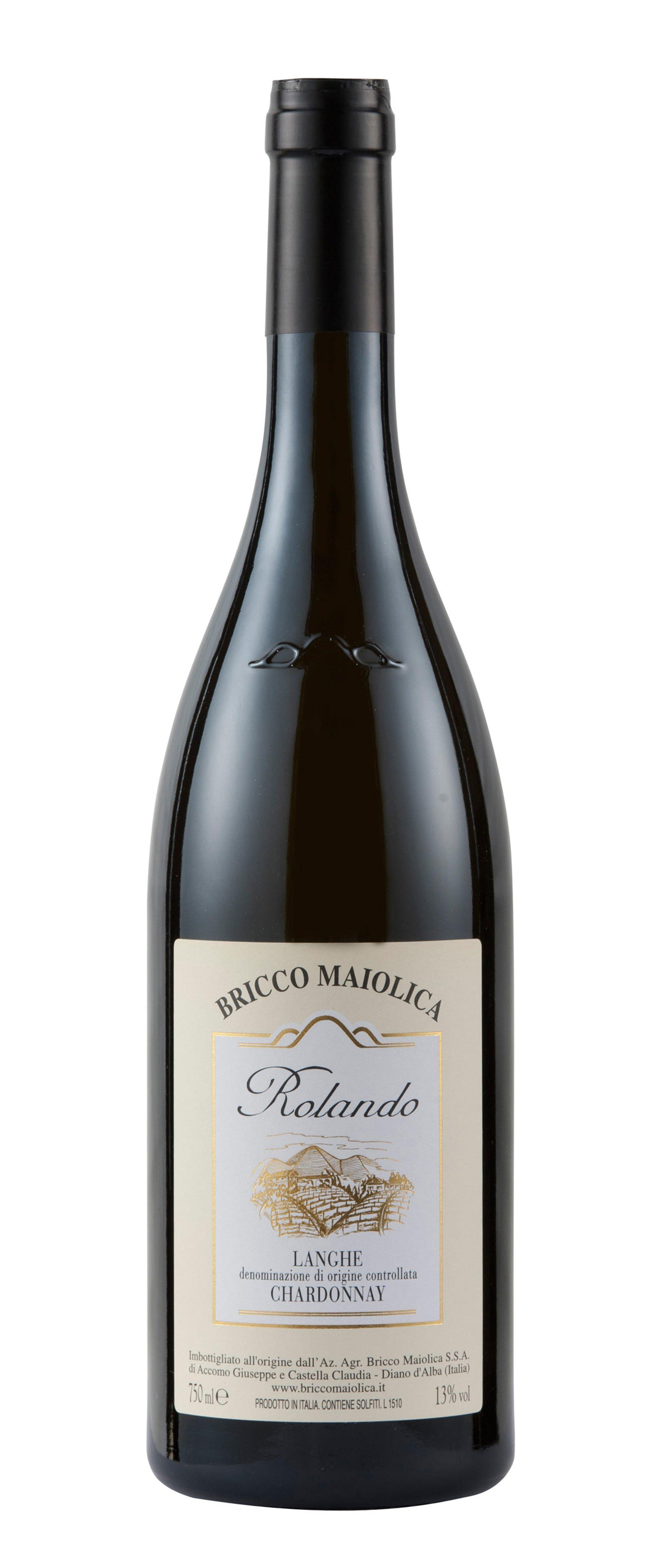 "Download Foto Bottiglia ""Rolando"" <br />Langhe Chardonnay DOC"
